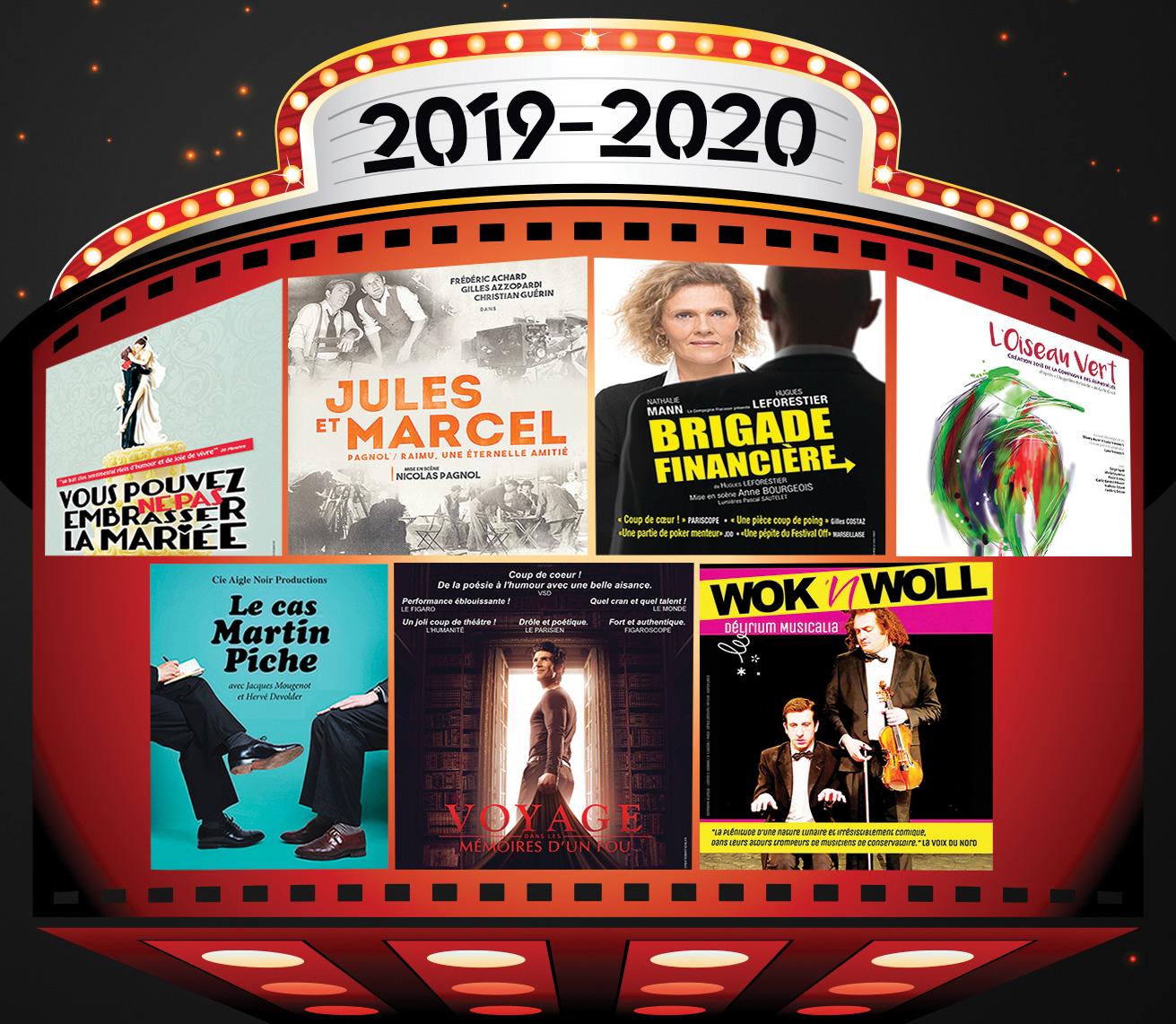 Découvrez le programme 2019-2020