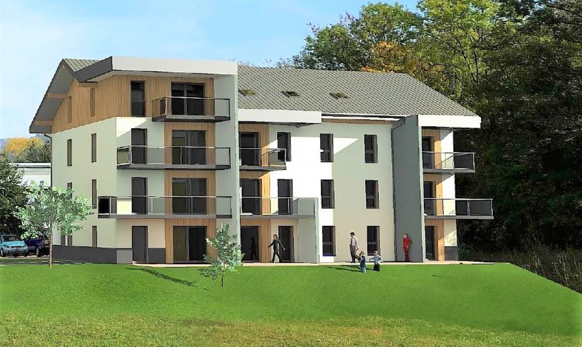 Programme immobilier en Accession aidée à BOEGE - IDEIS