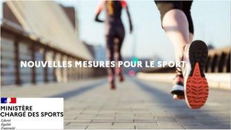 Confinement - note relative à la pratique des activités physiques et sportives